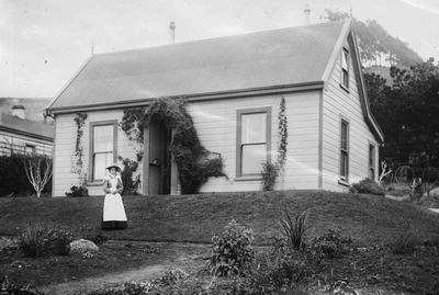 Ivan Bortons home 1900s, Clyde street