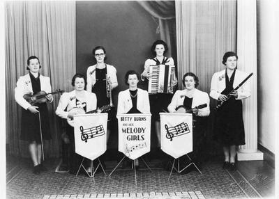 Betty Burns and her Melody Girls