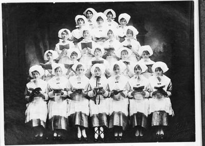 Reveille (1930s?) Dancing review, Oamaru Opera House.