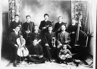 Star Orchestra, 1911, Baptist Church