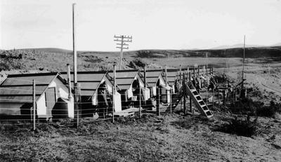 Workers Huts, Waitaki Valley?