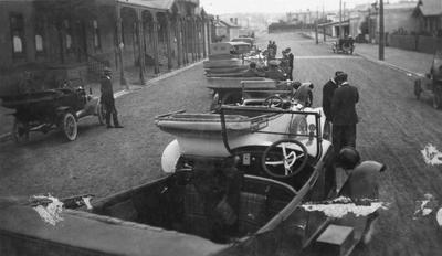 Vintage Cars on Humber St.