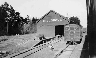 Hillgrove, Railway Goods Shed