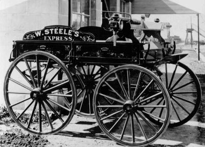 W Steele's Express carriage