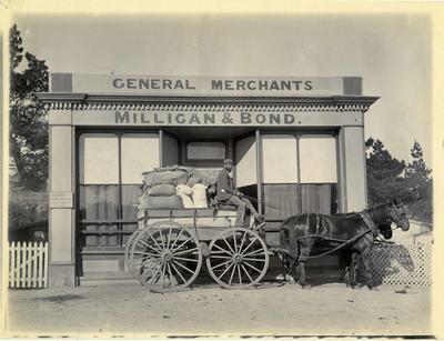Milligan & Bond General Merchants Ngapara; 3647P