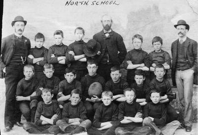 North School rugby team. Undated