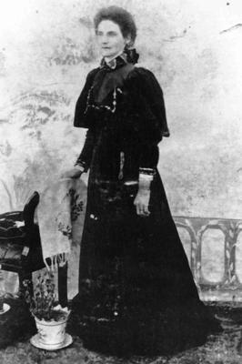 Christina Hall (nee Cameron), wife of Thomas Hall.