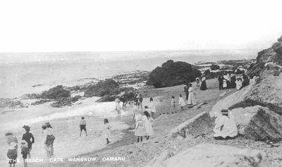Beach, Cape Wanbrow Oamaru