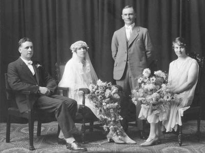 Mr and Mrs James Drennan on their Wedding Day.