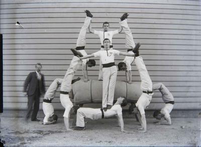 Gymnastics team unidentified