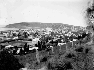 Oamaru View facing south east