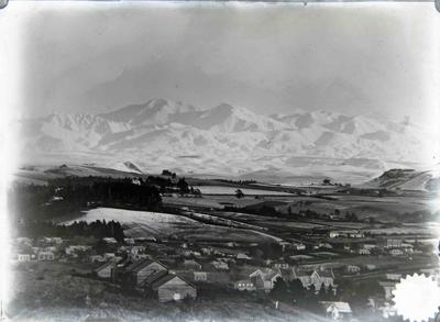 Oamaru view facing west