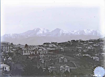 Oamaru view facing East