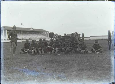 Military Volunteers at showgrounds