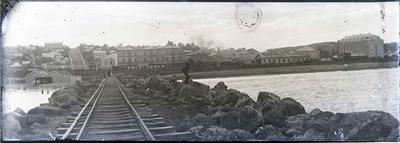 Holmes Wharf. Oamaru Harbour