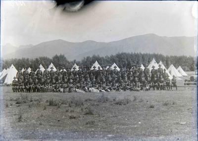 Unidentified military camp