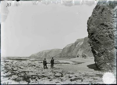Thomas Forrester at Cape Wanbrow foreshore; ; 2261P