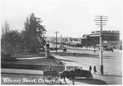 Thames Street, Oamaru, N.Z.