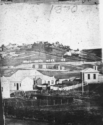 Elevated View of South Hill, Oamaru