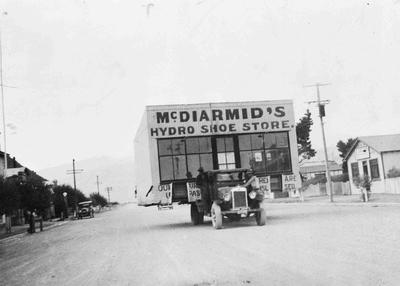 McDiarmid's Hydro Shoe Store; 514P