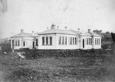 Oamaru Grammar School (Middle School) at completion