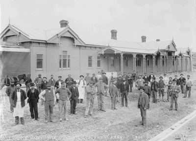 New Railway in Oamaru, North Otago