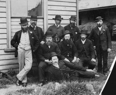 Staff of Oamaru Railway