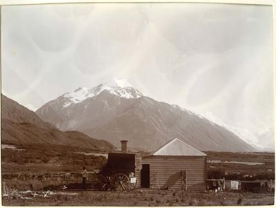 House, mountain scene unidentified; P0027.12.19