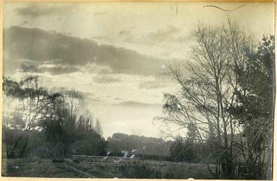 Bridge over creek, location unidentified; 2014/45.01.002