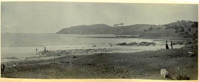 Beach scene, location unidentified
