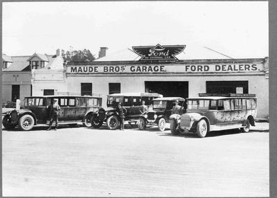 Maude Bros Motor Garage, North Otago