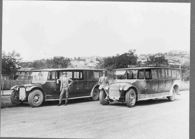 Whitaker's Motor Service buses, c. 1924