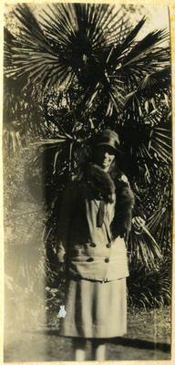 Woman in a garden; 2014/45.01.226