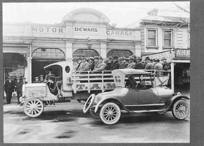 Dewar's Motor Garage, Thames St Oamaru