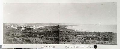 Oamaru view facing North