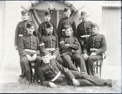 Unidentified military group
