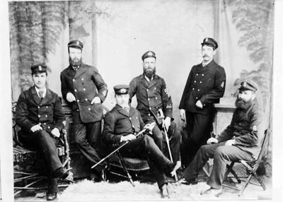 Military group portrait unidentified men