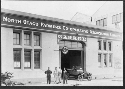North Otago Farmers' Co-operative Association Limited Garage