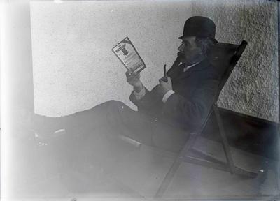 "Unidentified male reading ""The Waitakian"""