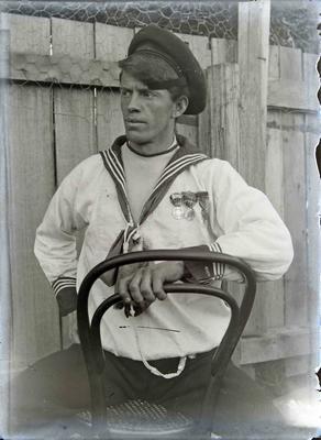 Unidentified man in Navy uniform; 1374P