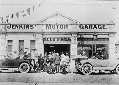Jenkins' Motor Garage, North Otago