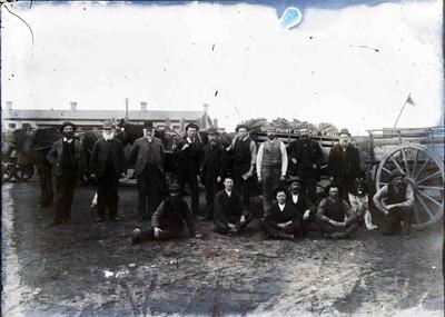 A group of Oamaru Coal Merchants, 1890s