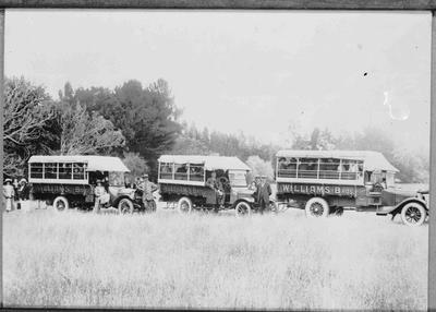 Williams Brothers Buses, c.1915.