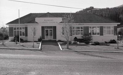 Front view of Waihemo County Council building.
