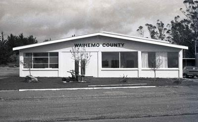 Waihemo County Depot building.