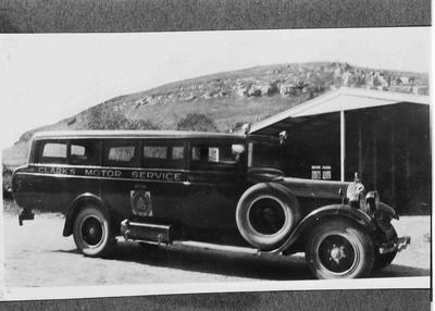 Clark's Motor Service Bus