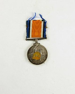 British War Medal; McMillan, William (b.1887, d.1977); 91/0090