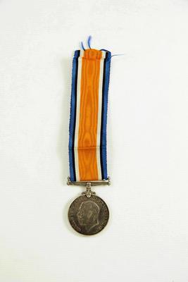 British War Medal; McMillan, William (b.1887, d.1977); 97/1104