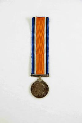British War Medal; McMillan, William (b.1887, d.1977); 97/1167