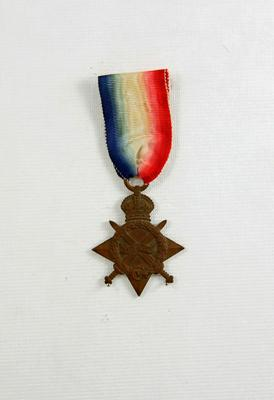 1914-15 Star Medal; Blakemore, William Henry James (b.1871, d.1945); 05/0120